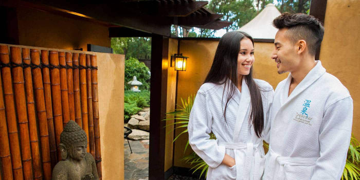 hot springs day spa Yarra Valley Dandenong Ranges