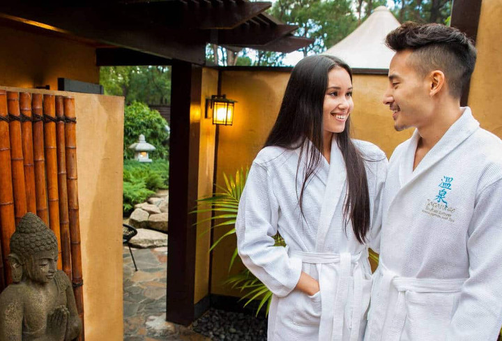 best spa packages Melbourne Japanese Mountain Retreat